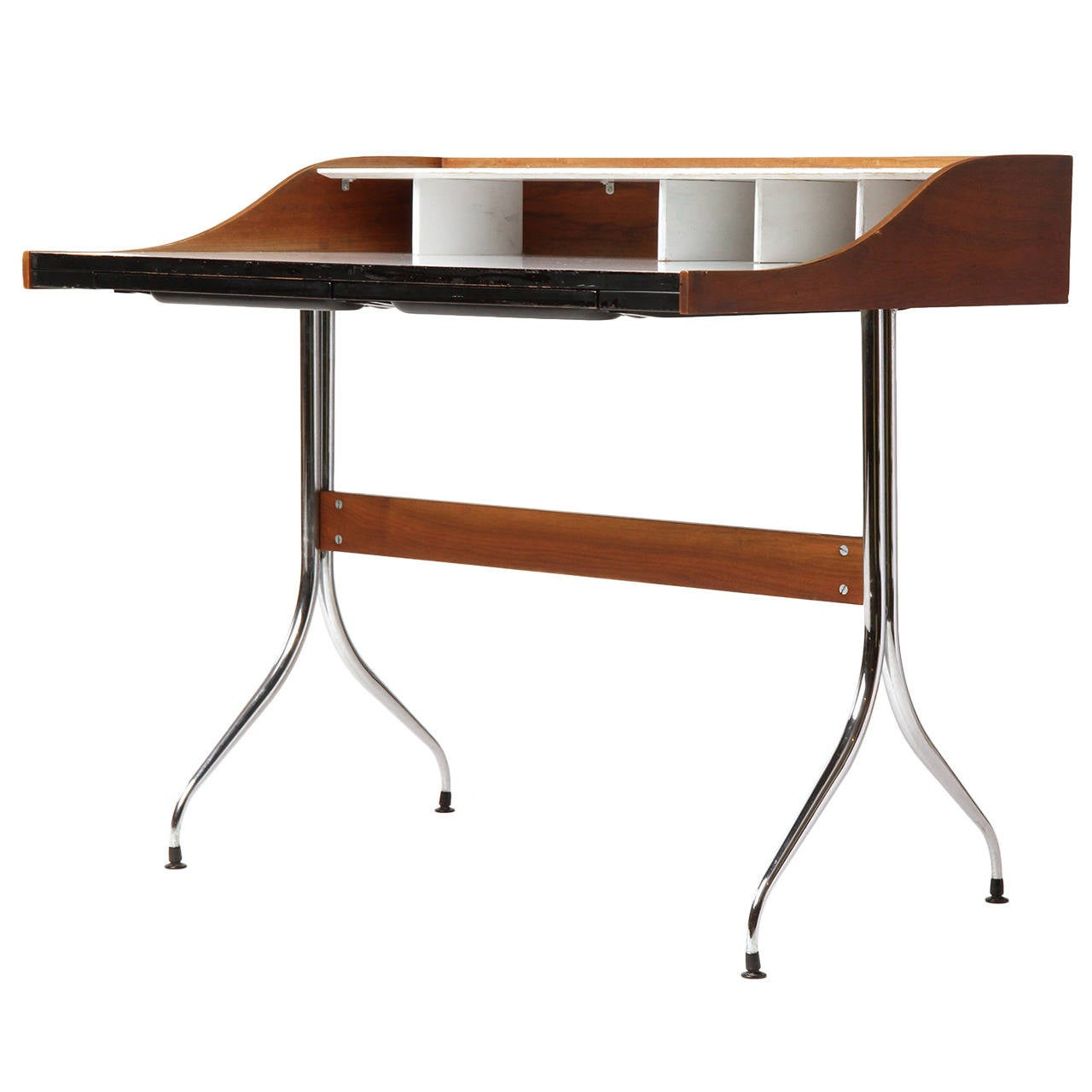 Swag Leg Desk By George Nelson For Sale