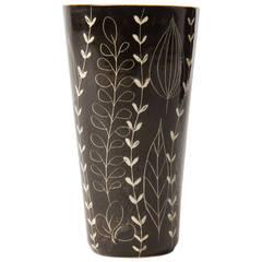 Adorned Ceramic Vase by Arabia