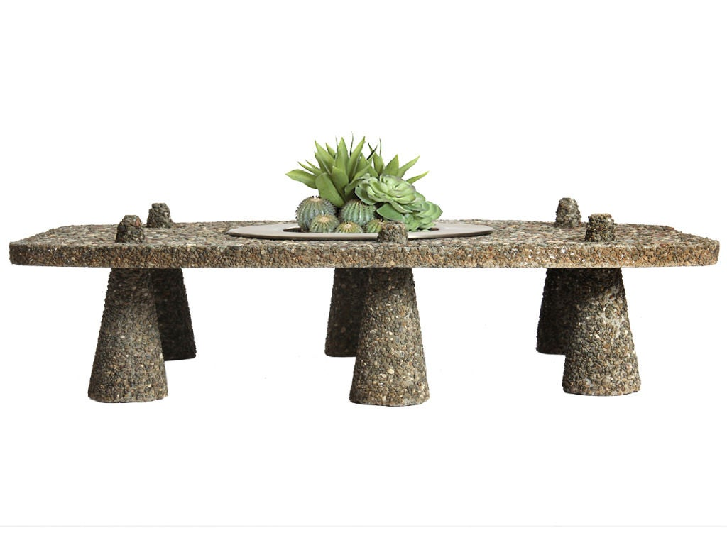 8903 1300837013 6 Tuesdays Find...cement table