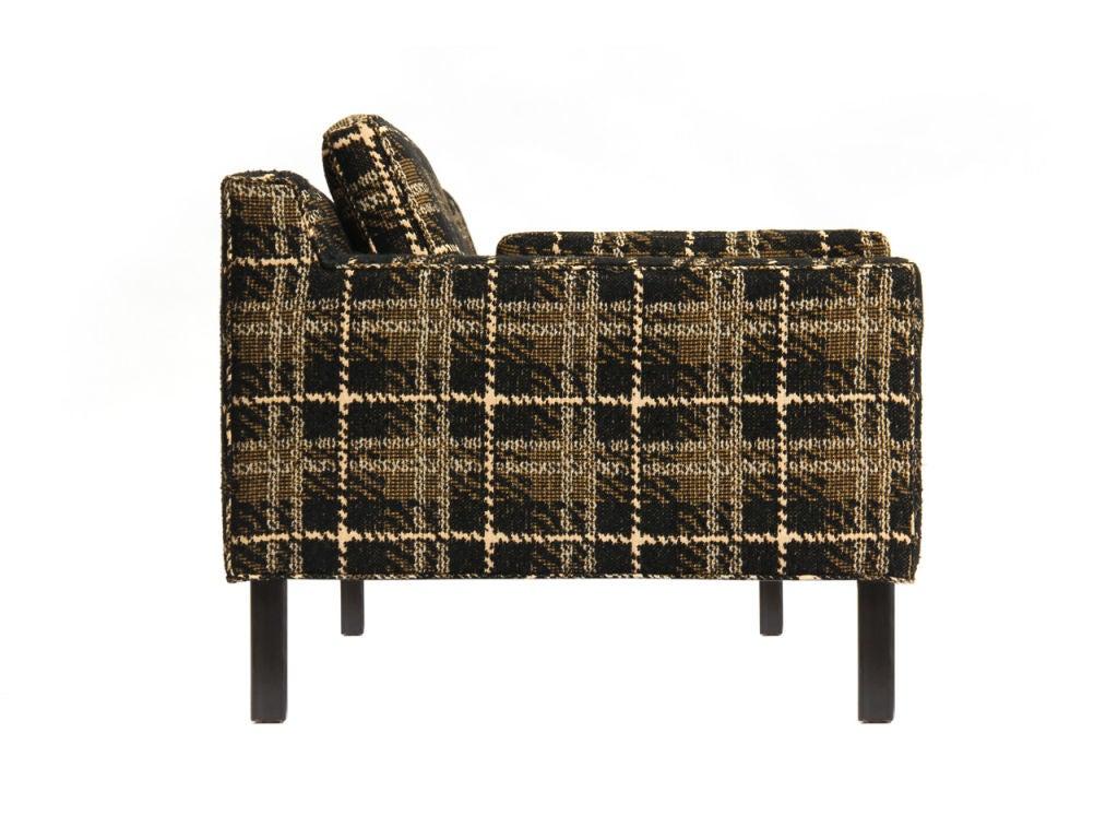 Plaid Sofa By Edward Wormley For Dunbar At 1stdibs