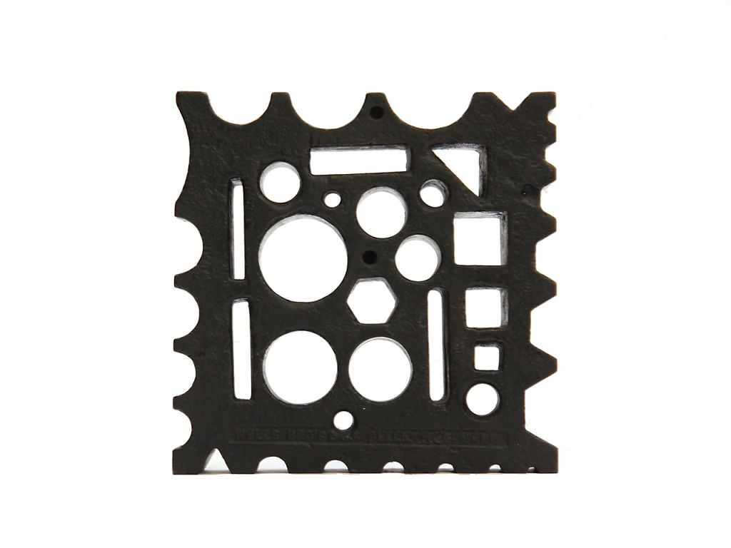 Cast Steel Blacksmith's Swage Blocks 2