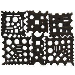 Cast Steel Blacksmith's Swage Blocks
