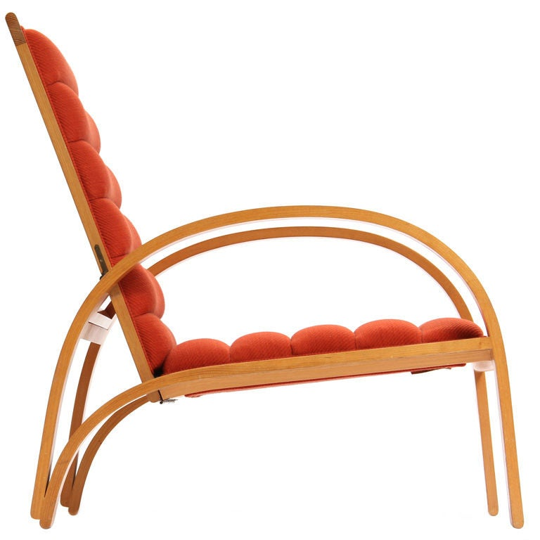 Ash Lounge Chair by Ward Bennett