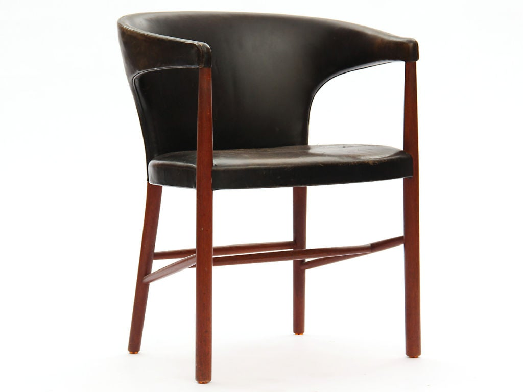 Scandinavian Modern B-48 Chair by Jacob Kjaer For Sale