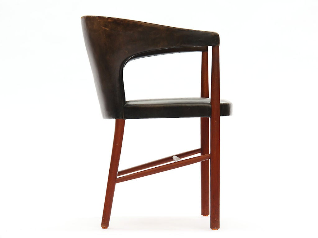 Danish B-48 Chair by Jacob Kjaer For Sale