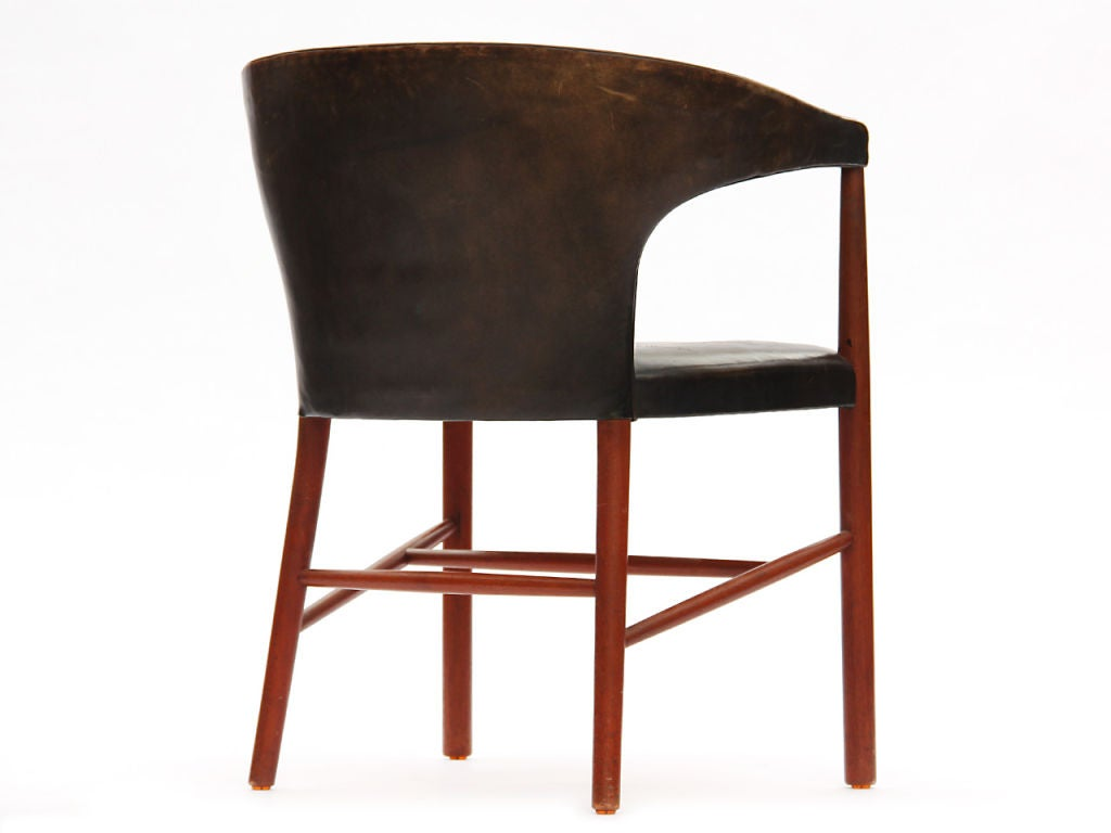 B-48 Chair by Jacob Kjaer In Good Condition For Sale In New York, NY