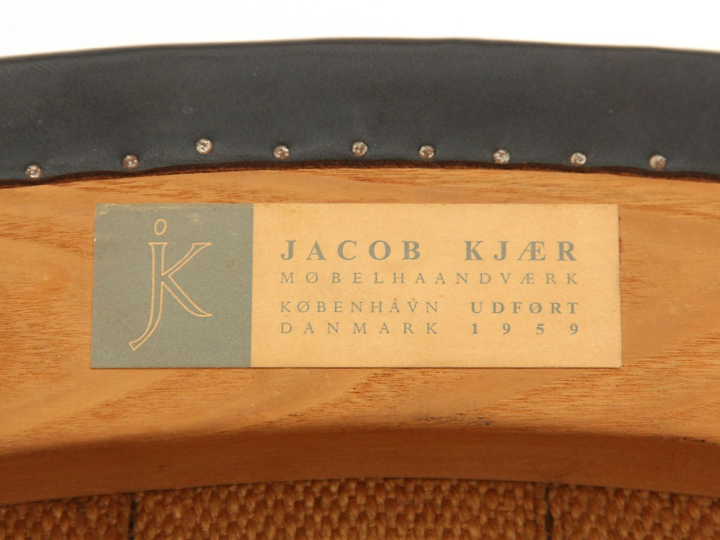 B-48 Chair by Jacob Kjaer For Sale 2