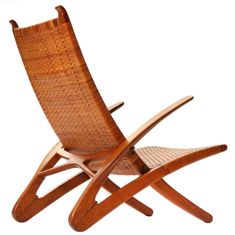 The Dolphin Chair By Hans Wegner At 1stdibs
