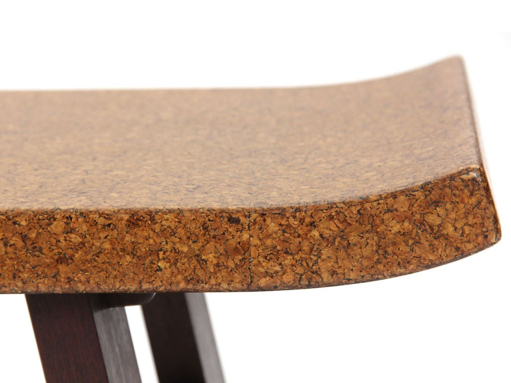 American Cork Low Table by Paul Frankl For Sale