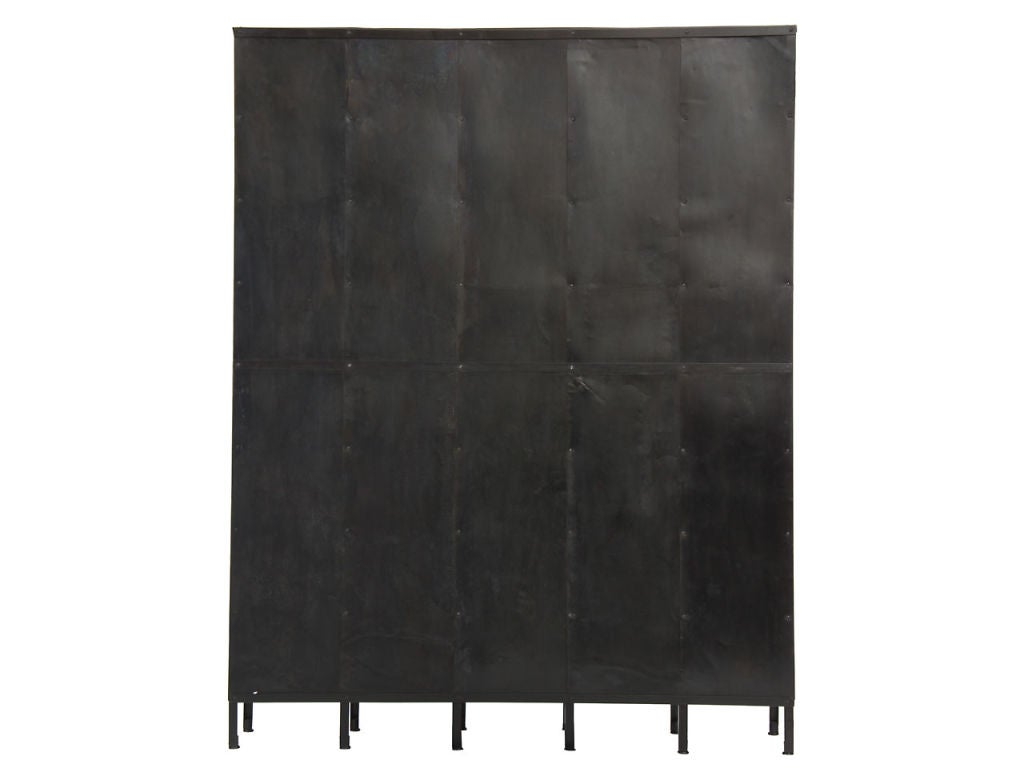 20th Century Vented Steel Lockers