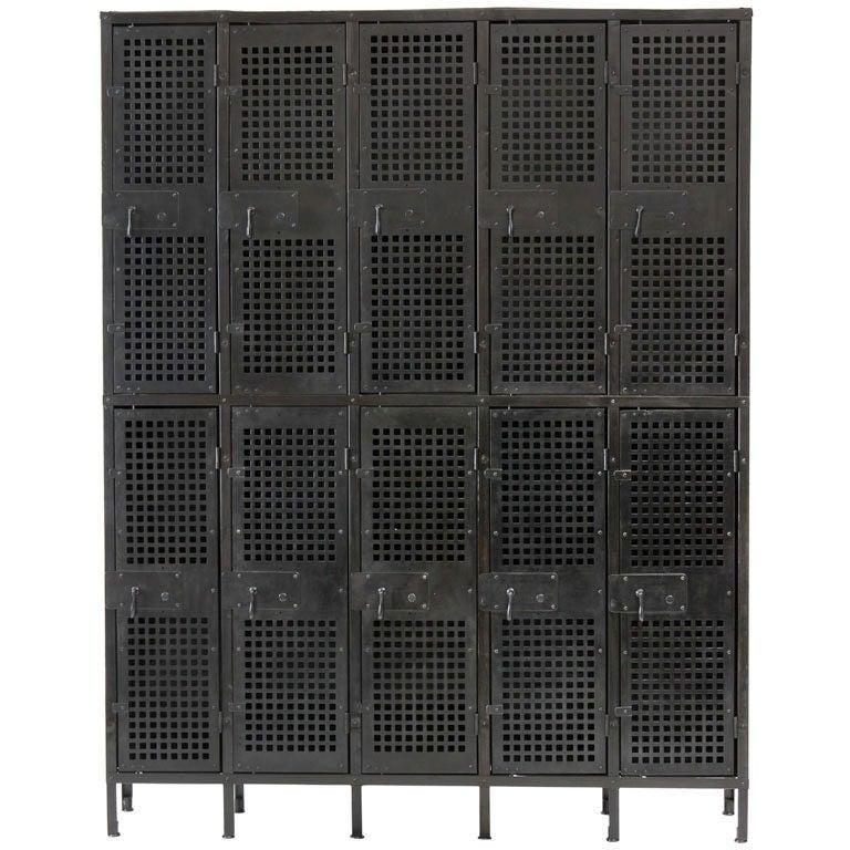 Vented Steel Lockers