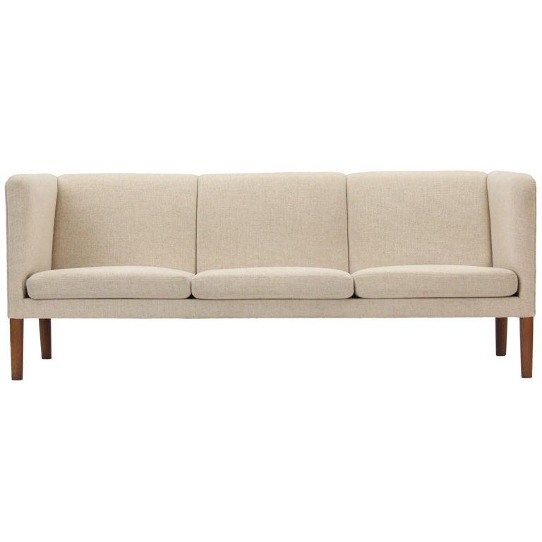 Sofa By Hans J Wegner At 1stdibs