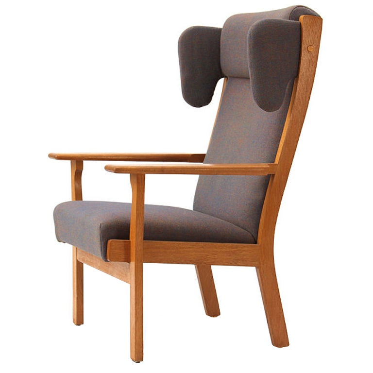 Wingback Armchair by Hans Wegner For Sale