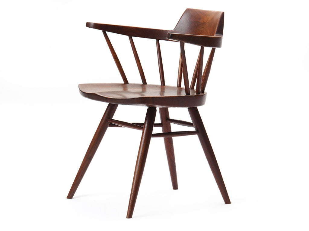 Superb Captain Chairs The Captain S Chair By George Nakashima At 1stdibs