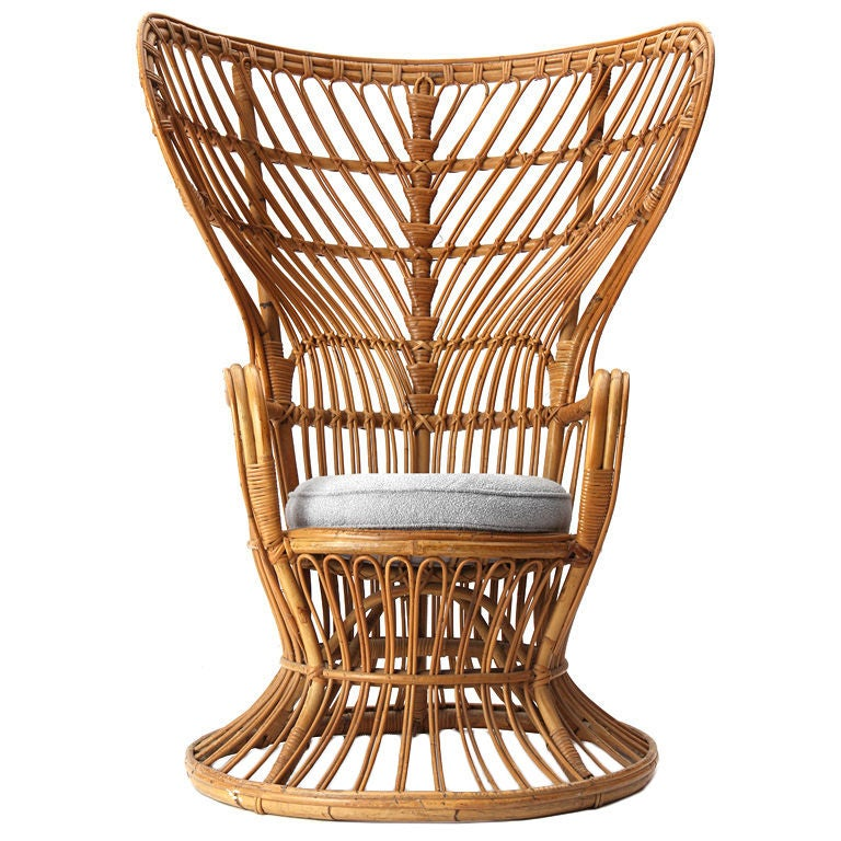 High Back Chair By Gio Ponti At 1stdibs