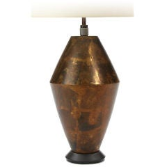 Gilded Bronze Lamp by Damon Giffard