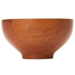 Large Teak Serving Bowl by Henning Koppel