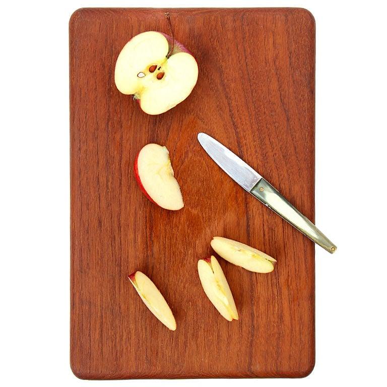 Kay Bojesen teak cutting board, 1950s