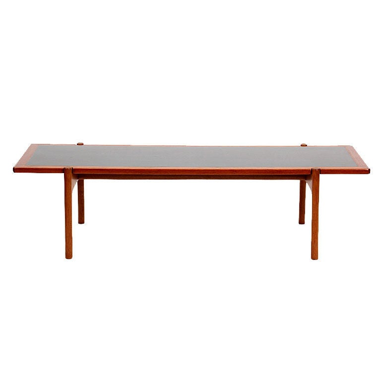 Reversible Top Low Table by Hans J. Wegner