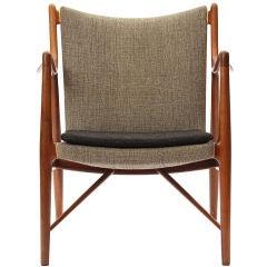 the '45' chair by Finn Juhl & Neils Vodder