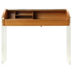 roll-top writing desk by Kagan