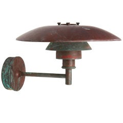 Bronze Sconce by Poul Henningsen
