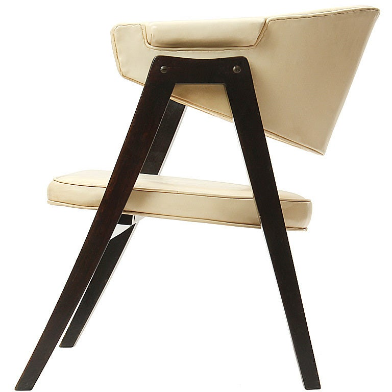 A-Frame Armchair by Edward Wormley For Sale