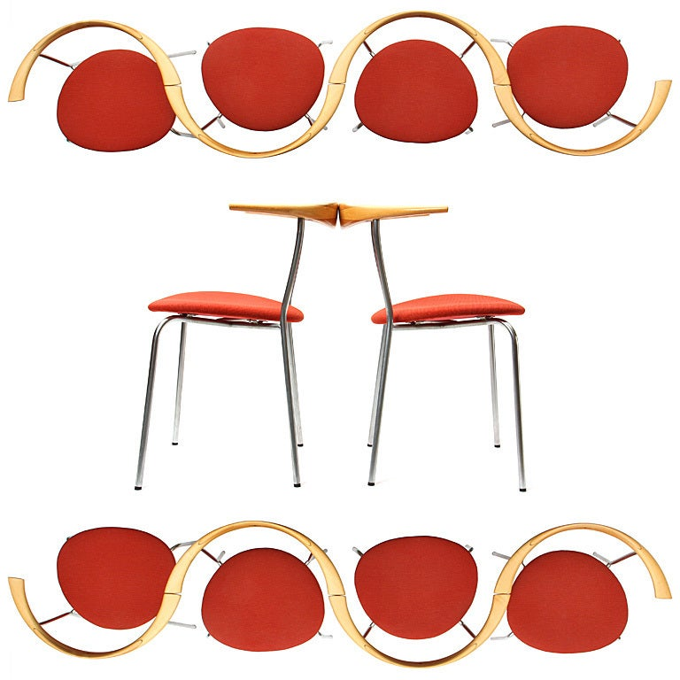 Minimal Chair by Hans J. Wegner