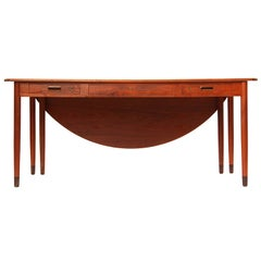 Drop Leaf Executive Desk by Willy Beck