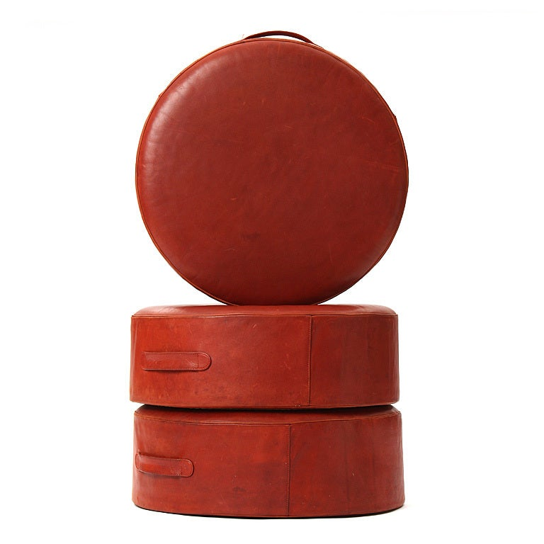 Ottomans By Ivan Schlechter For Sale At 1stdibs