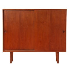 tall cabinet by Hans J. Wegner