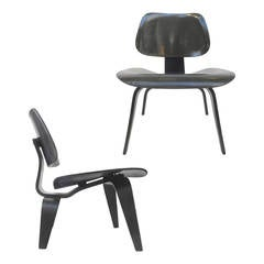 Late 1940s Black LCWs Chairs by Charles and Ray Eames