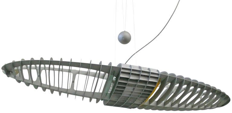 A sculptural and unusual hanging light named after Shakespeare's