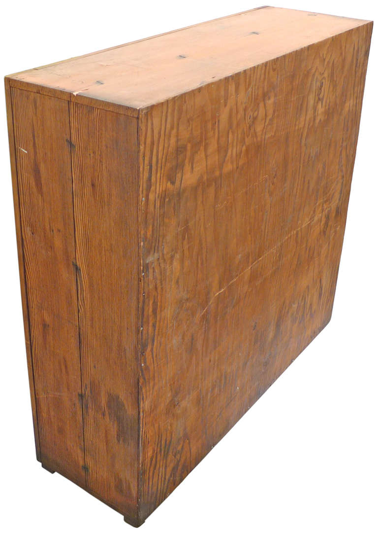 Unusual primitive plywood cabinet at 1stdibs for Plywood cupboard