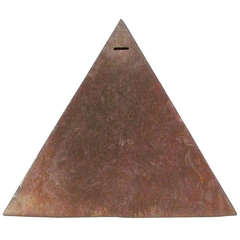 Large Scale Welded Steel Pyramid Bank