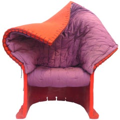 """Feltri"" Armchair by Gaetano Pesce for Cassina"