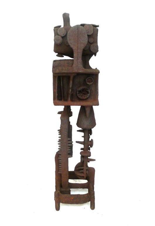 20th Century Cast Iron Sculpture For Sale