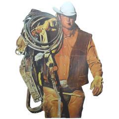 Monumental Vintage Marlboro Man Billboard
