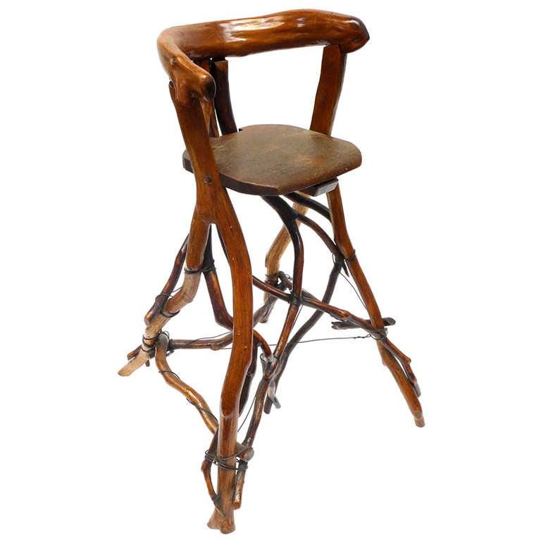 Primitive Twig High Chair