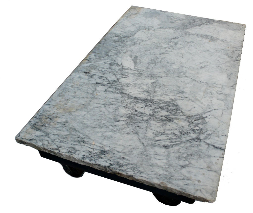 Marble Coffee Table Industrial