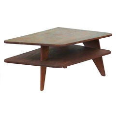 Palm Springs Modern Architectural Plywood Table