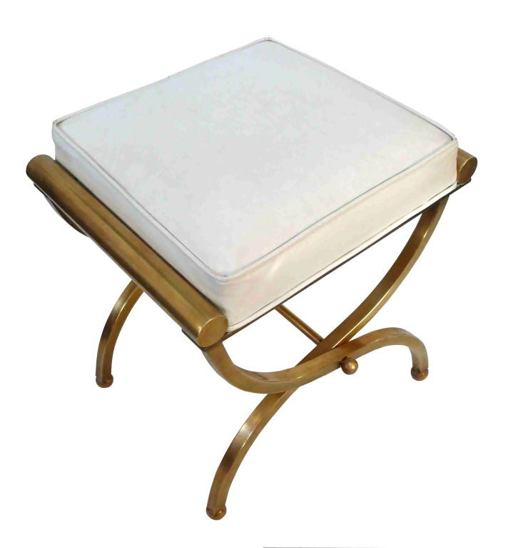 Empire Vanity Stool By Charles Hollis Jones At 1stdibs