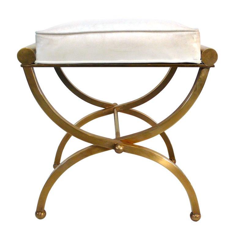 Empire vanity stool by charles hollis jones at 1stdibs - Elegant vanity stools ...