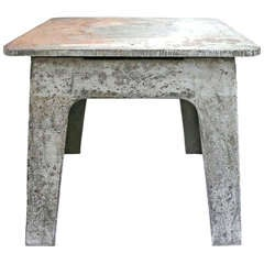 Steel Industrial Side Table