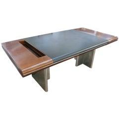 Massive Desk by Hans Von Klier for Skipper