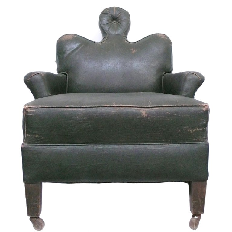 "Unusual ""Human"" Reclining Lounge Chair at 1stdibs"