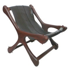 """Sling """"Sloucher"""" Chair by Don Shoemaker"""