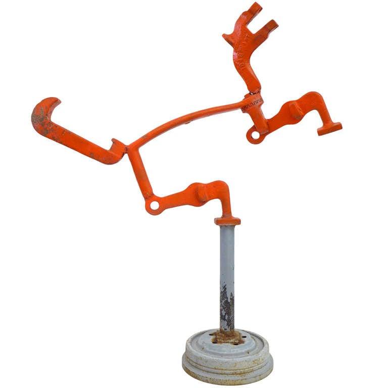 Modernist Figural Sculpture by Harold Bloom For Sale