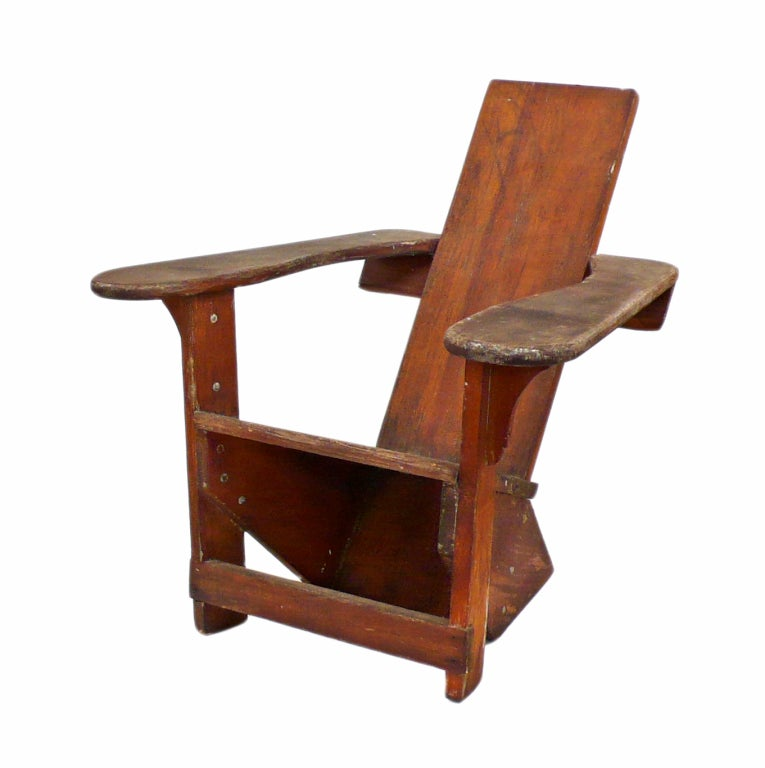 Early And Rare Children S Westport Chair At 1stdibs