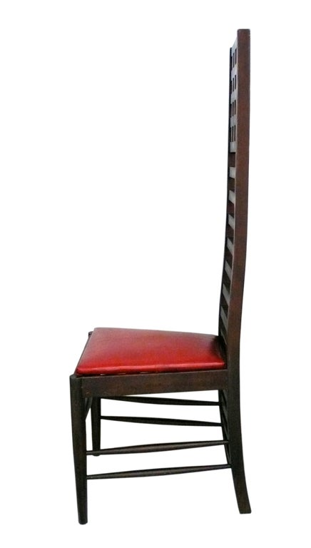 Architectural Ladder Back Chair At 1stdibs